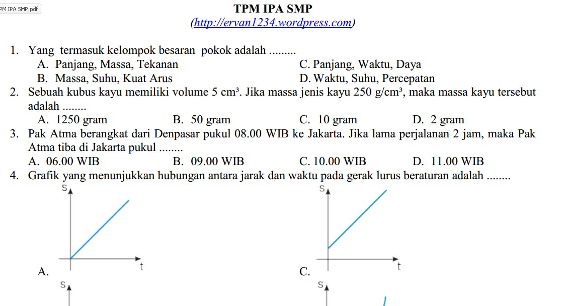 Download TPM Matematika SMP 2012/2013